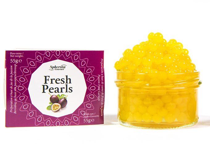 Perlas líquidas Fresh Pearls fruta de la pasión de Pescaviar