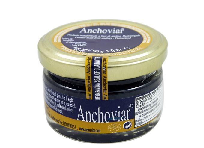 perlas de anchoa Anchoviar de Pescaviar