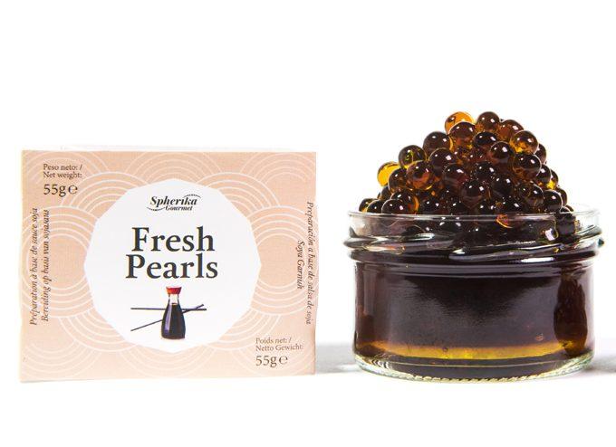 Perlas líquidas Fresh Pearls de soja de Pescaviar