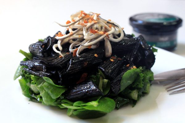pasta negra tinta de sepia pescaviar